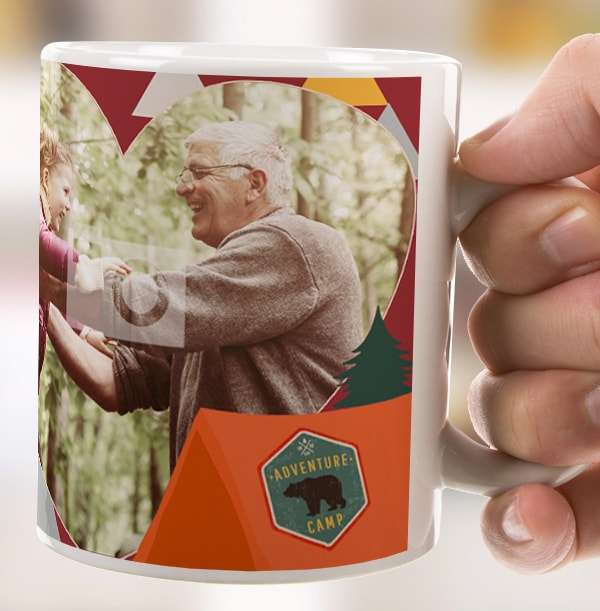 Grampy Into The Wild Photo Mug