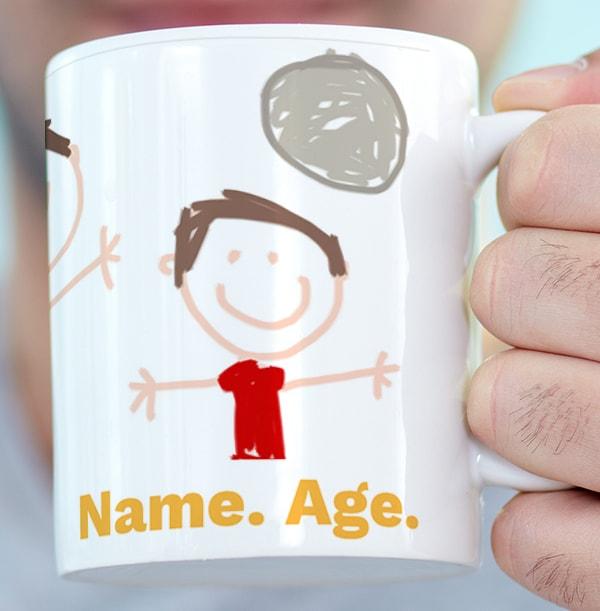 Little Masterpiece Personalised Photo Mug