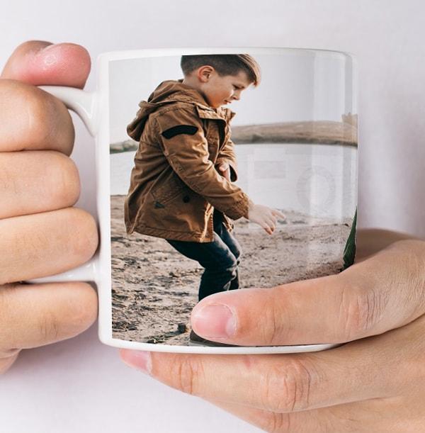 Personalised Daddy Photo Mug