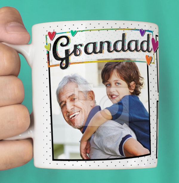 Grandad You're The Best Photo Mug