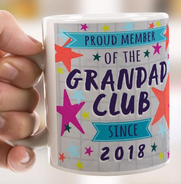 Grandad Club Personalised Mug