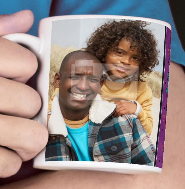 World's Best Dad Photo Mug