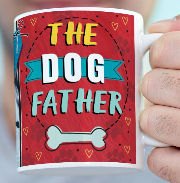 The Dog Father Photo Mug