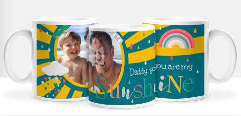 Daddy You Are My Sunshine Photo Mug