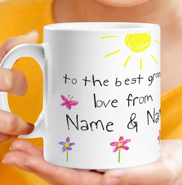 Personalised I Love You Grandad Photo Upload Mug