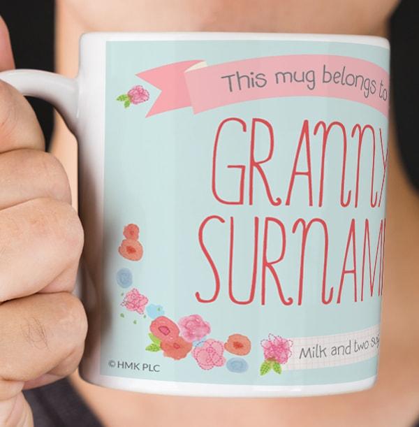 Granny Forever Friends Personalised Mug