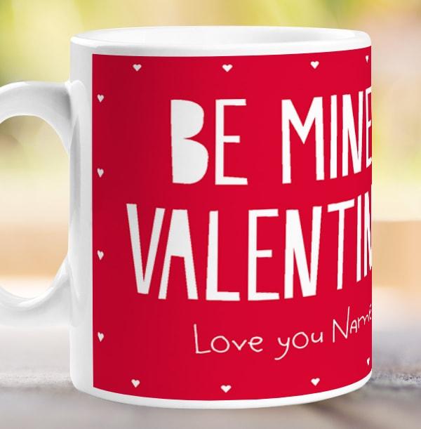Be Mine Valentine - Forever Friends Personalised Mug