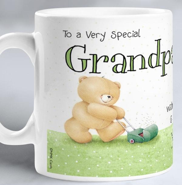 Special Grandpa Forever Friends Mug