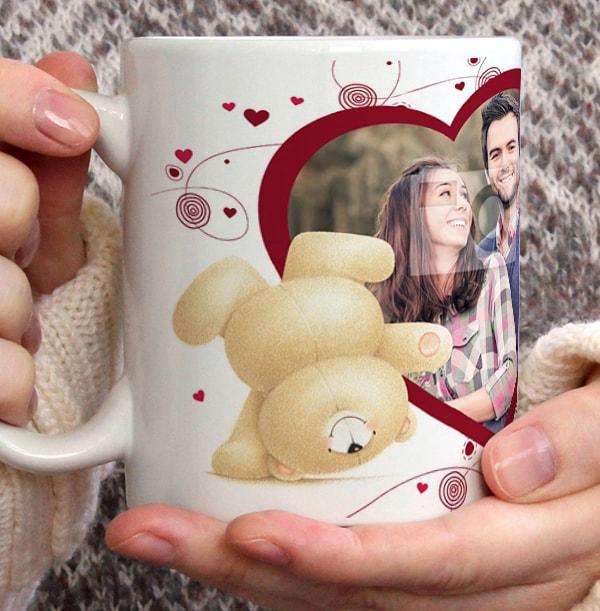 Head Over Heels - Forever Friends Personalised Mug