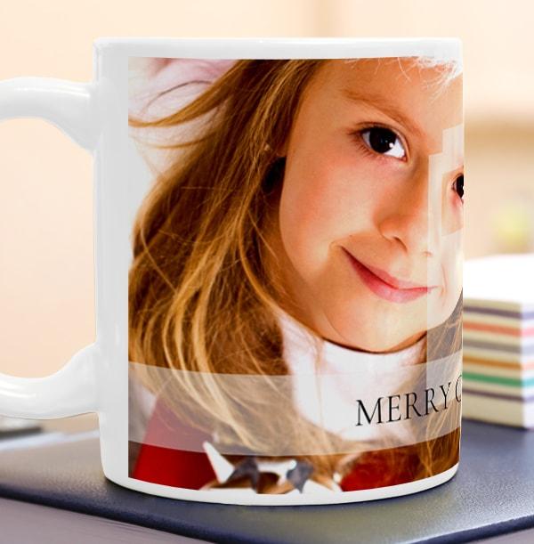 Personalised Mug - Full Photo Upload & Banner
