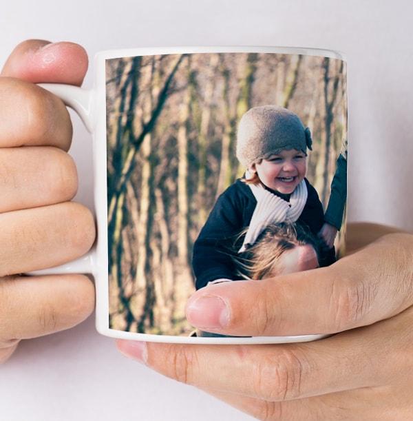 Personalised Full Photo Mug With No Text