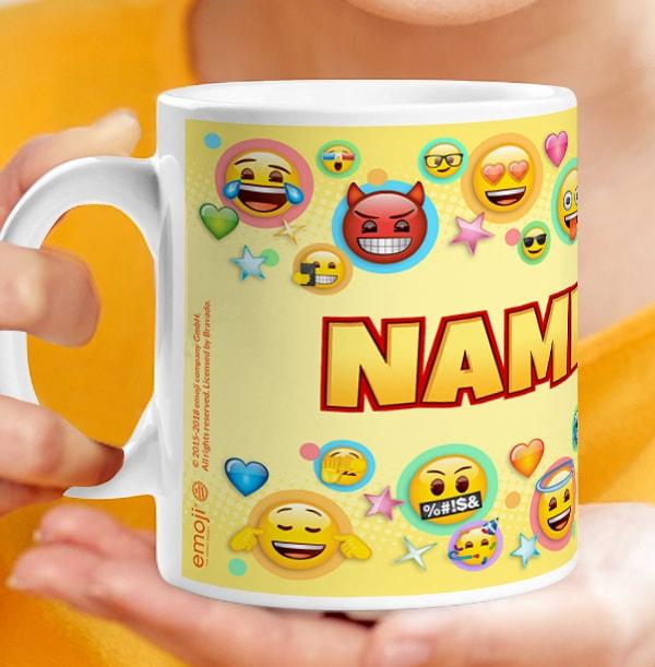 Emoji Personalised Mug - Emotional