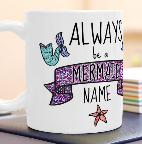 Always Be A Mermaid Photo Mug