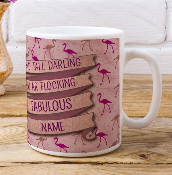 Flocking Fabulous Photo Mug
