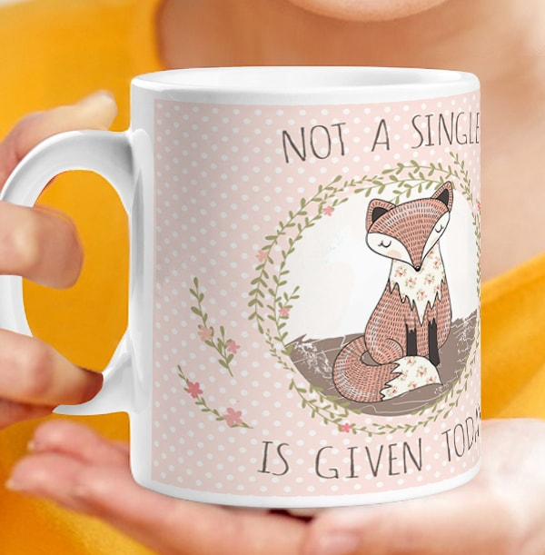 Not A Single Fox Mug
