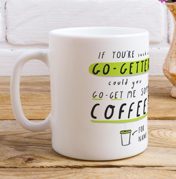 Go-Getter Personalised Mug