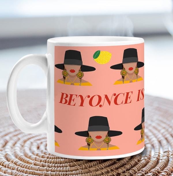 Beyonce Spirit Animal Personalised Mug