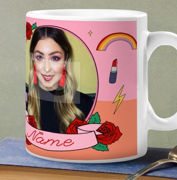 Boss Babe Photo Mug