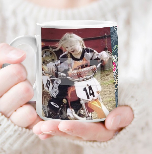 18 Years Female Milestone Photo Mug