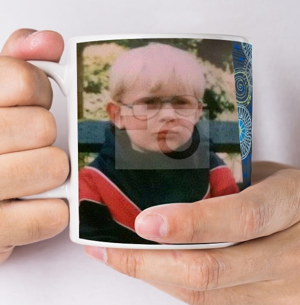 18 Years Male Milestone Photo Mug
