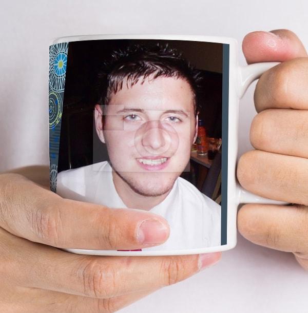 30 Years Loved Male Photo Mug