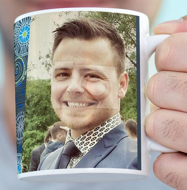 40 Years Loved Male Photo Mug
