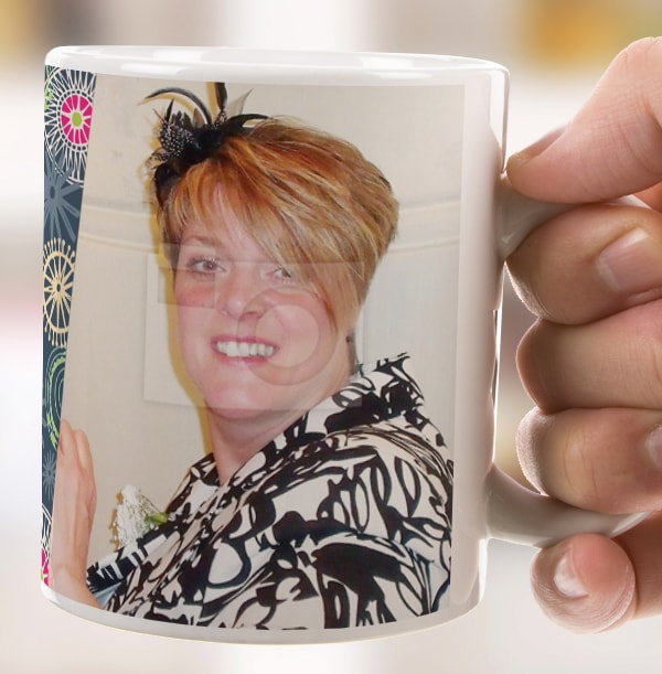 50 Years Loved Female Photo Mug