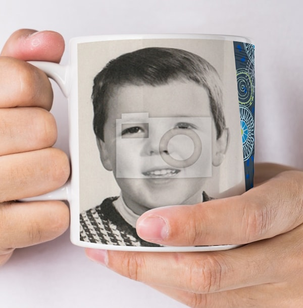 50 Years Loved Male Photo Mug