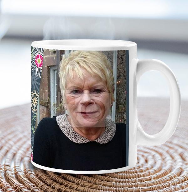 60 Years Loved Female Photo Mug