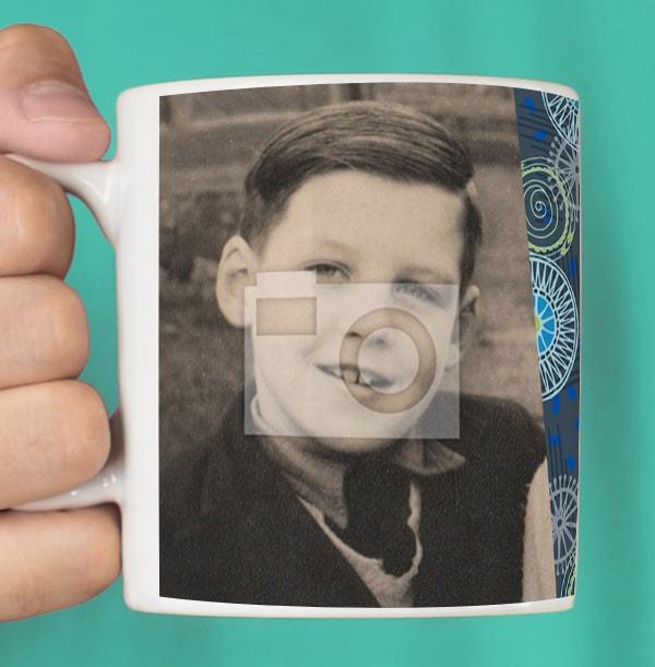 60 Years Loved Male Photo Mug