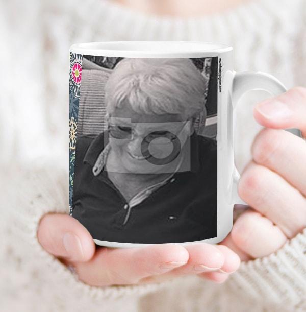 70 Years Female Milestone Photo Mug