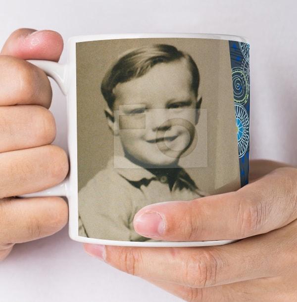 70 Years Male Milestone Photo Mug