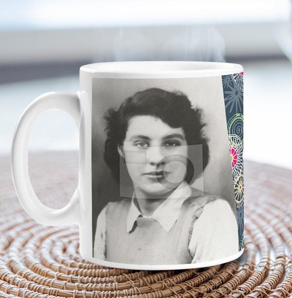 80 Years Female Milestone Photo Mug