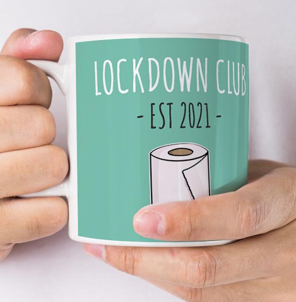 Lockdown Club Personalised Mug