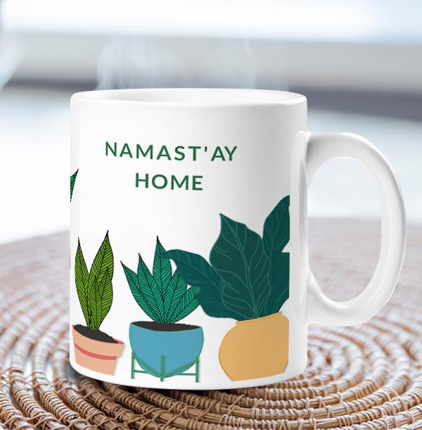 Namast'ay Home Personalised Mug