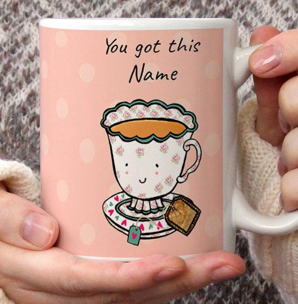 Positivitea Personalised Mug