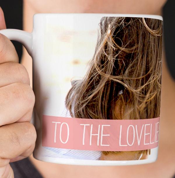 Loveliest Mummy Personalised Photo Mug