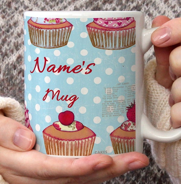 Personalised Cupcake Mug