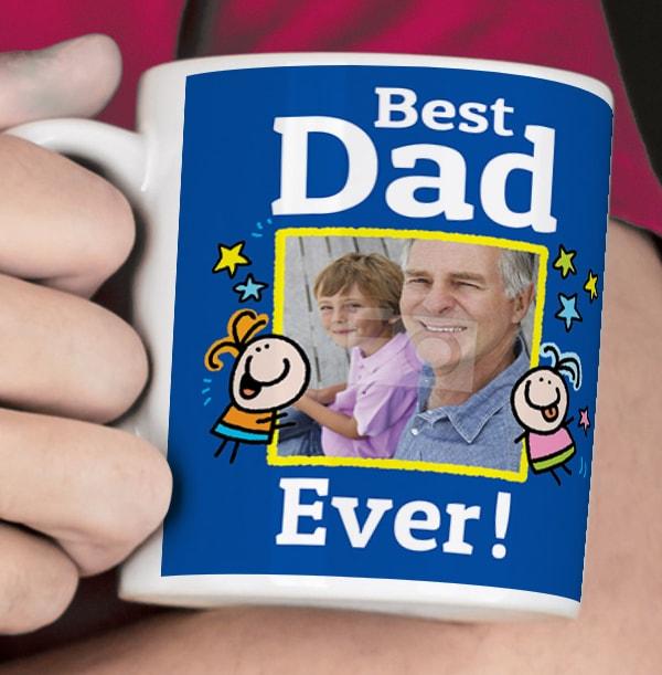Best Dad Ever Photo Mug - Lemon Squeezy