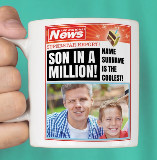 Son In A Million Photo Mug