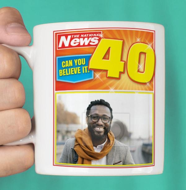 Fantastic Forty Photo Mug