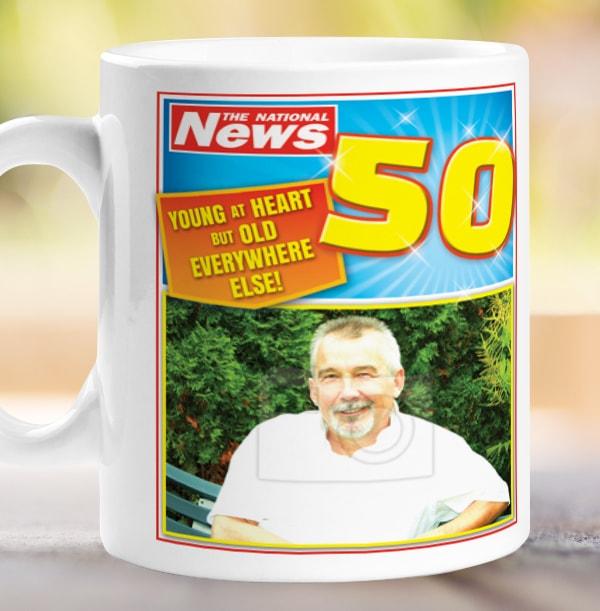 Nifty Fifty Photo Mug