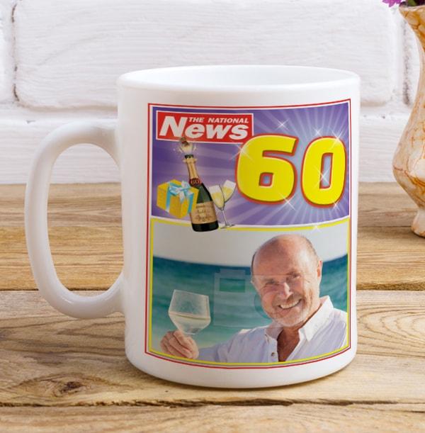 Super Sixty Photo Mug
