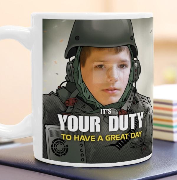 Your Duty Spoof Photo Mug