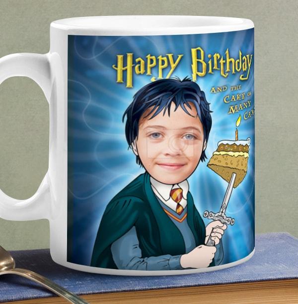Magic Birthday Spoof Photo Mug
