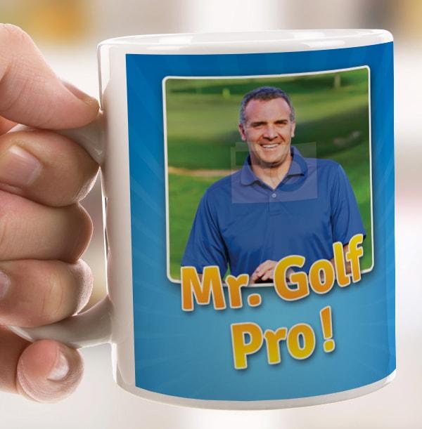 Mr.Golf Pro Photo Mug