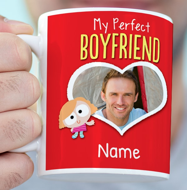 Perfect Boyfriend Personalised Mug