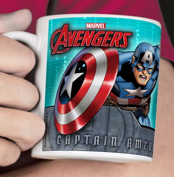 Captain America Avengers Photo Mug