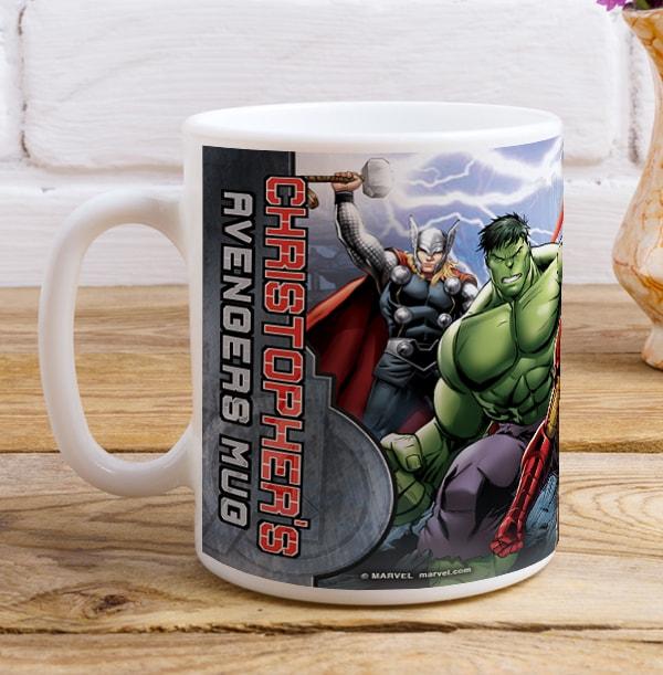 Marvel Avengers Mug - Personalised Group