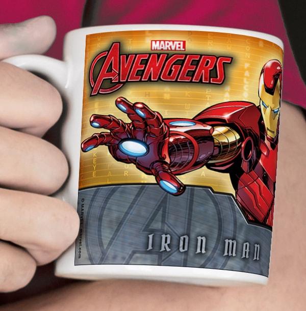 Iron Man Personalised Avenger Mug